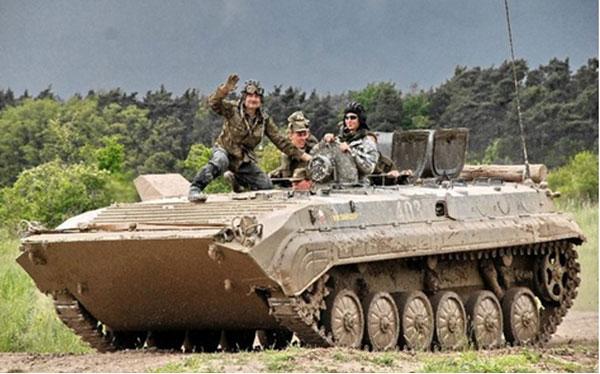 Tank driving prague stag premium