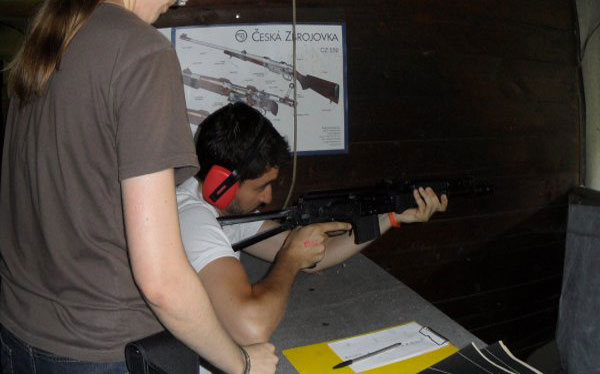 shooting 4 weapons prague stag premium